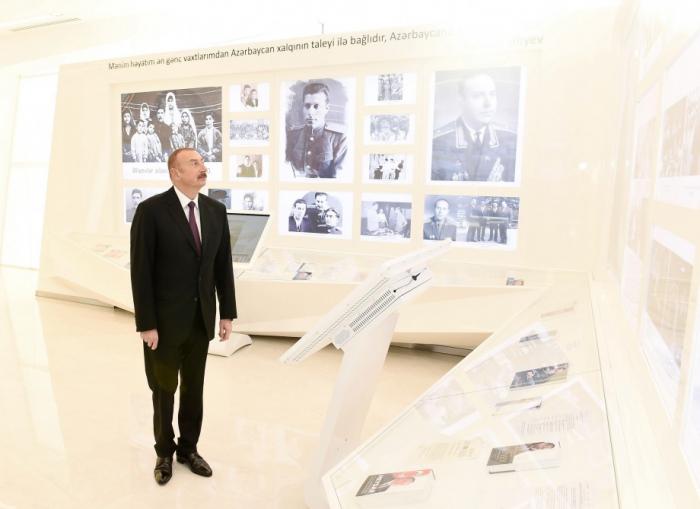 Prezident Gənclər Mərkəzinin açılışında - FOTOLAR (Yenilənib)