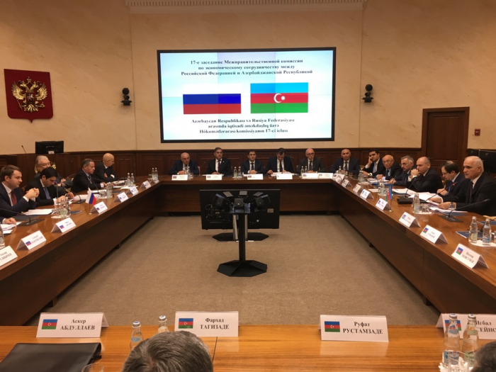 Moscow hosts Azerbaijan-Russia intergovernmental commission on economic cooperation
