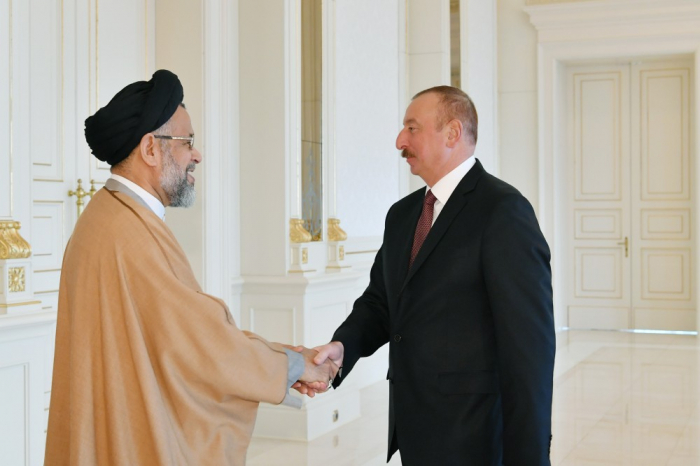 President Ilham Aliyev received Iranian intelligence minister -  UPDATED