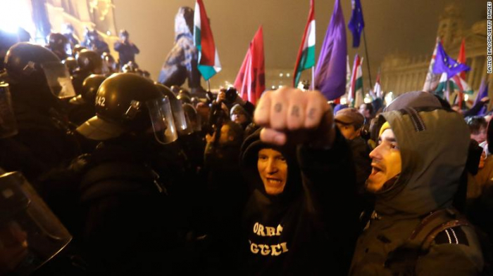 Budapest rocked by second night of protests over