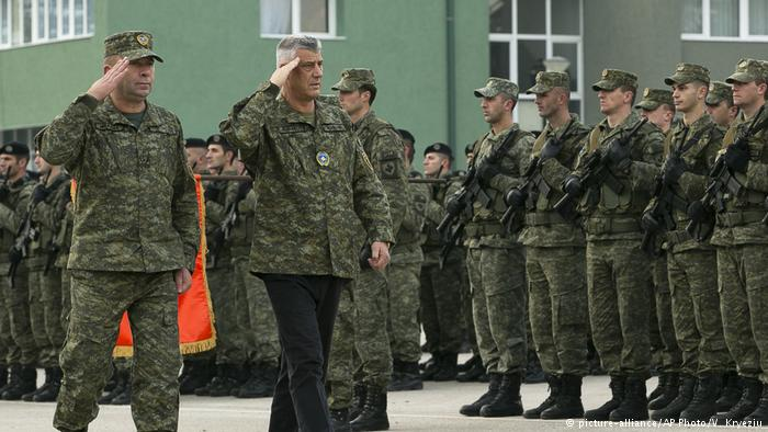 Kosovo legislature approves creation of national army