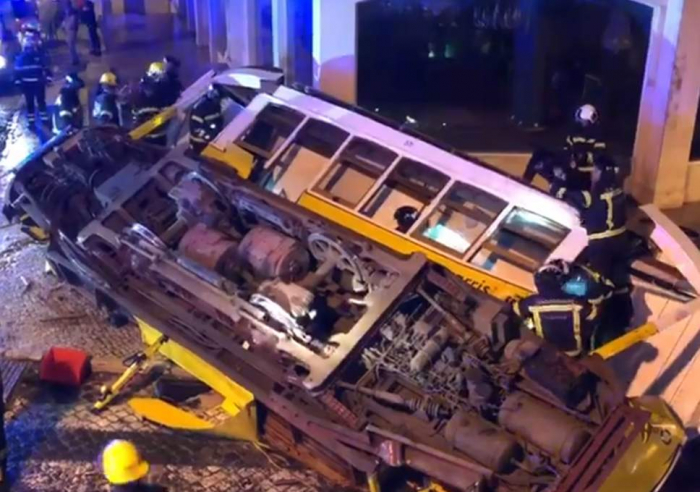 Dozens injured in Lisbon tram crash