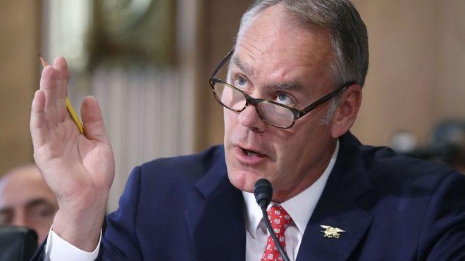 Ryan Zinke: US interior secretary to leave administration
