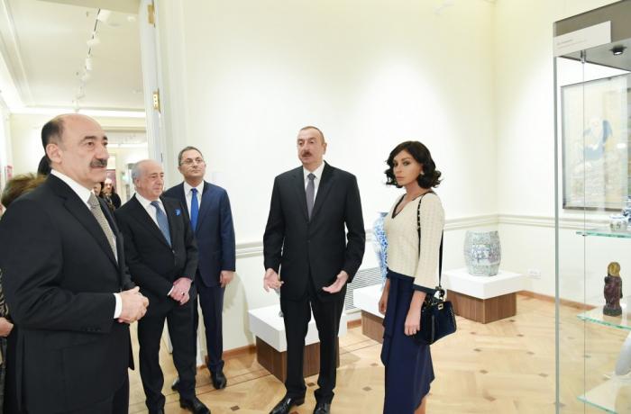 Prezident və xanımı açılış mərasimində - FOTOLAR (Yenilənib)