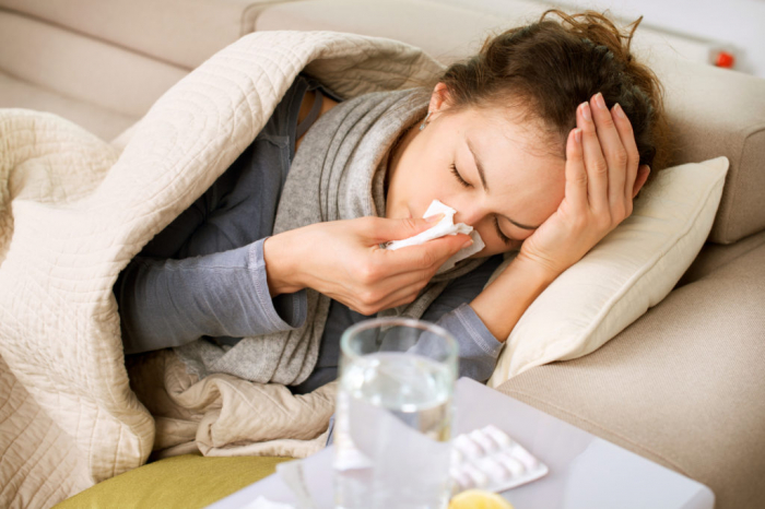 How long do cold and flu viruses stay contagious on public surfaces?