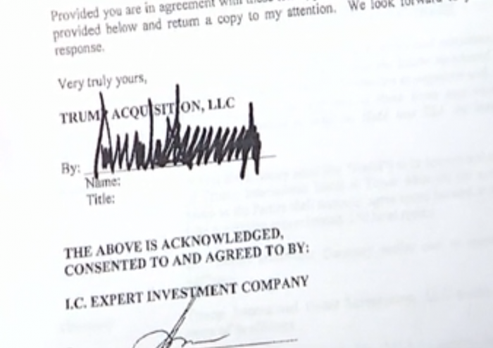 Donald Trump signed letter of intent over Moscow Trump Tower project,   leaked document   reveals
