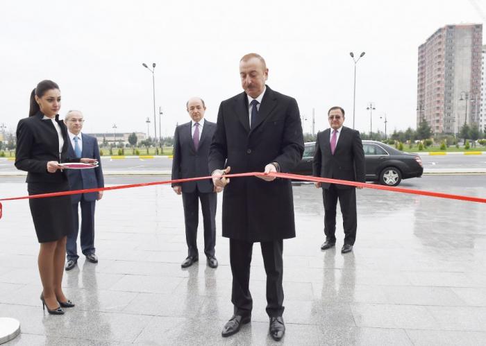 Binəqədi Rayon Məhkəməsinin yeni binasının açılışı olub - Yenilənib (FOTOLAR)