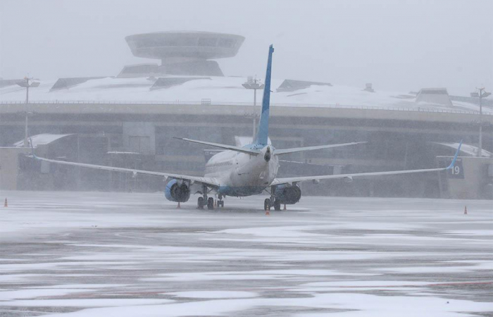 Poor weather conditions delay dozens of flights at Moscow airports