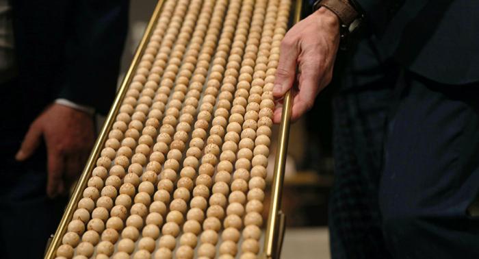 España celebra su tradicional sorteo de la Lotería de Navidad
