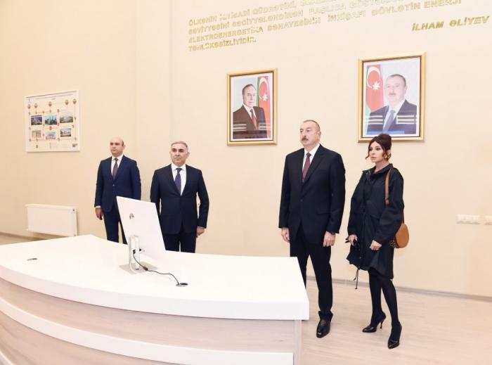 """Prezident xanımı ilə """"Bakı Ağ Şəhər""""də  -  FOTOLAR"""