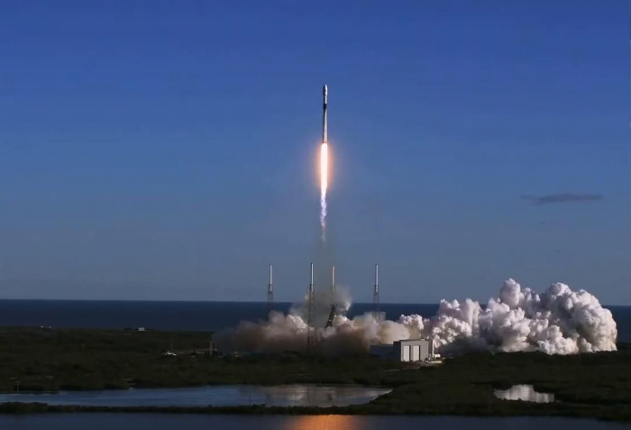 SpaceX rocket finally launches first  spy satellite  into space