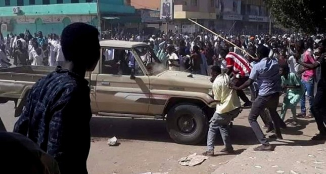Western nations urge calm in Sudan as protests turn violent