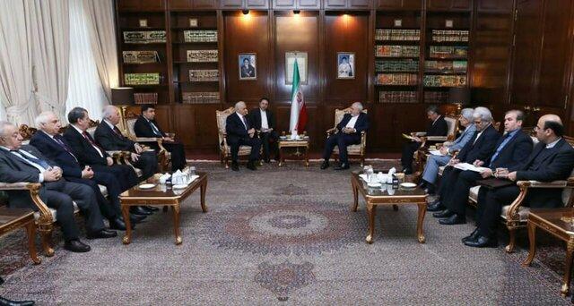 Azerbaijani parliament speaker, Iranian FM hold talks