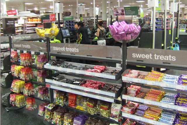 Removing sweets from checkouts could help tackle obesity