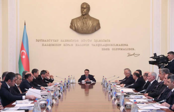 Azerbaijani Cabinet of Ministers holds meeting chaired by PM