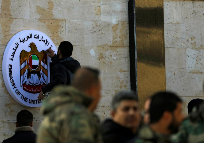 UAE reopens Syria embassy, a boost for Assad