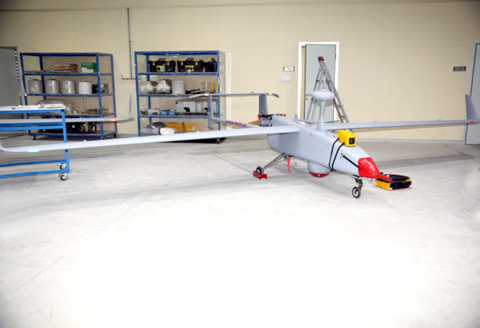 Azerbaijani defense minister attends opening of UAV Specialists Training Center