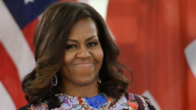 Michelle Obama takes