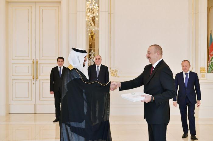 Prezident iki səfirin etimadnaməsini qəbul edib - FOTOLAR (Yenilənib)