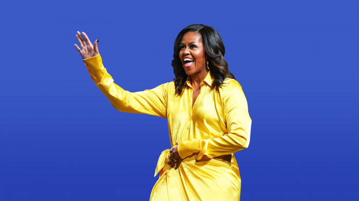 Michelle Obama beats Hillary Clinton for America's most admired woman list