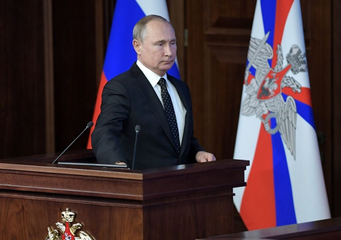 """Putin ABŞ-ı nüvə raketləri ilə hədələdi: """"Bizim onsuz da hər şeyimiz var"""""""