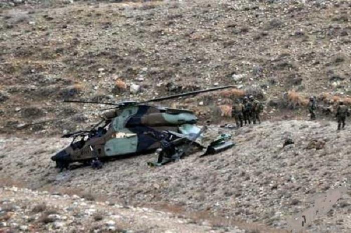 Əfqanıstanda hərbi helikopter qəza törədib