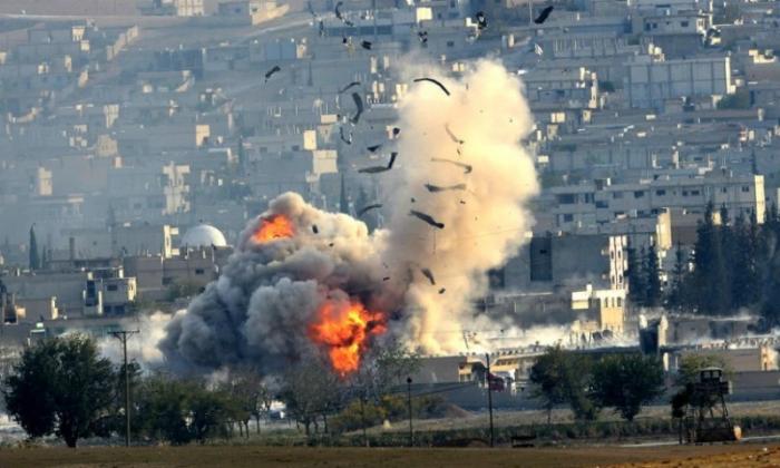 ABŞ Suriyanı vurdu - 30 ölü