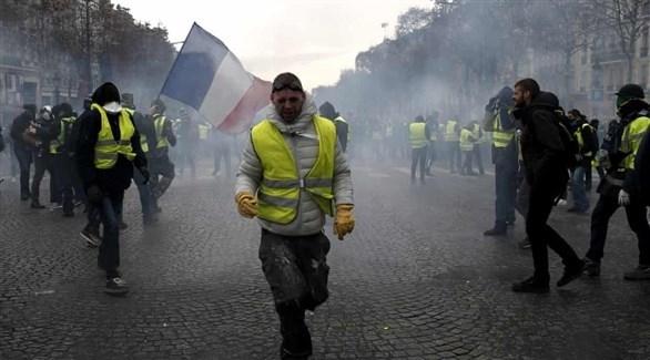 """اليسار الألماني يساند احتجاج """"السترات الصفراء"""""""