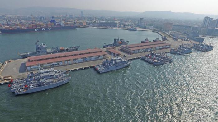 La Turquie construit une nouvelle base navale en mer Noire