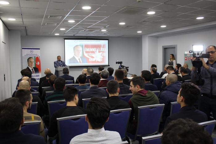 Kiyevdə Heydər Əliyev anılıb - Fotolar