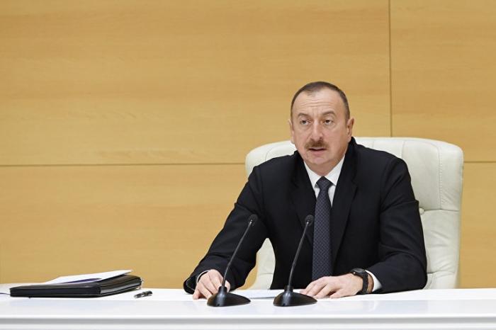 «Nous voulons régler le conflit par la négociation» –  Président Aliyev