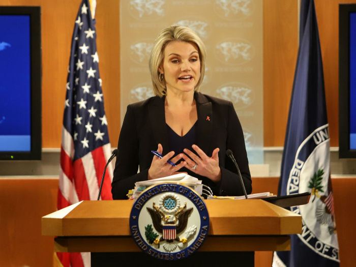 Trump set to appoint State Dept spokeswoman Heather Nauert as UN ambassador