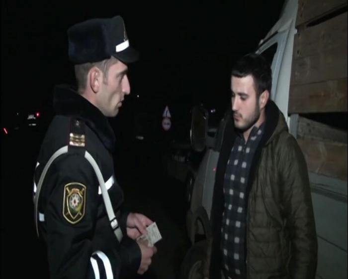 DYP Astarada reyd keçirdi: 20-yə yaxın sürcü cərimələndi