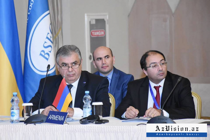 Armenian representative attends BSEC meeting in Azerbaijan