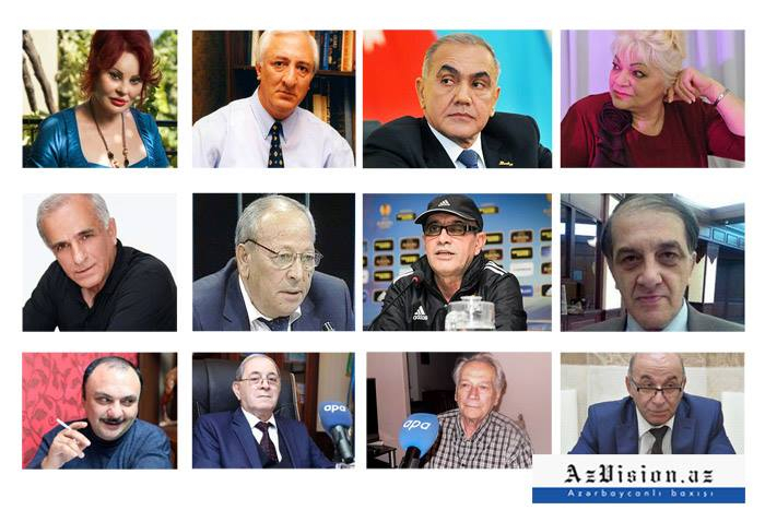 Bu il dünyasını dəyişən tanınmış azərbaycanlılar - FOTOLAR