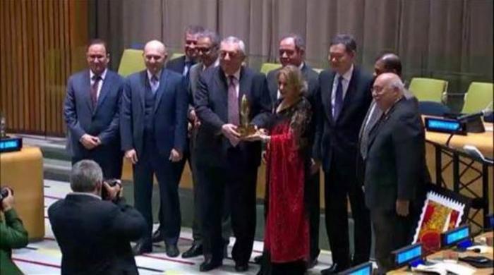 Azərbaycanlı diplomat beynəlxalq mükafat alıb