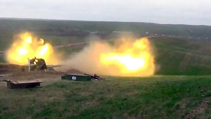 Ordumuzun döyüş atışlı təlimi keçirilib - FOTOLAR+VİDEO