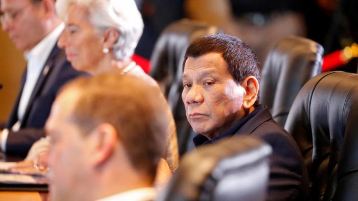 Drug-busting Duterte quips smoking pot 'keeps him awake'