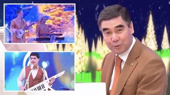 Turkmen leader plays and sings own song… in German? -  VIDEO