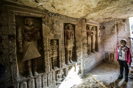 Egypte : découverte d