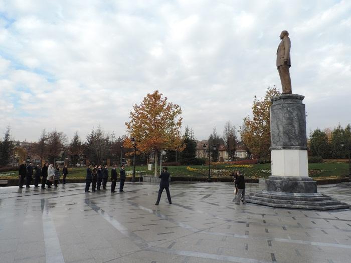 Hərbi Hava Qüvvələrinin komandanı Türkiyədə - FOTOLAR