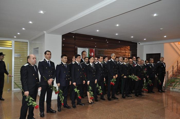 Bakı şəhər prokurorluğunda Heydər Əliyev anıldı - FOTO