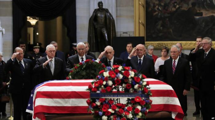 Obsèques nationales pour George H. W. Bush, l