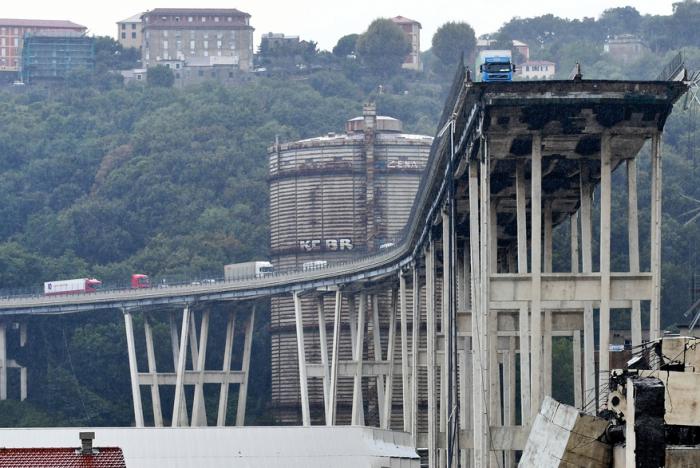 Italie: la démolition du pont de Gênes va pouvoir démarrer