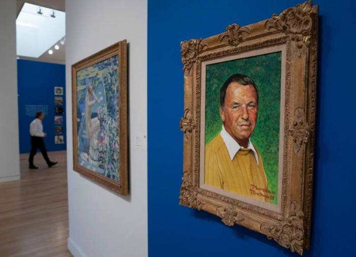 Cinq tableaux peints par Sinatra vendus chacun au moins 100.000 dollars