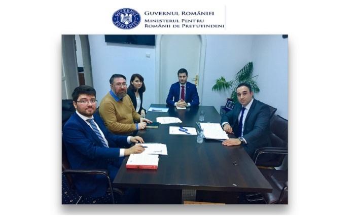 Rumıniya diasporları ilə əməkdaşlıq müzakirə edilib