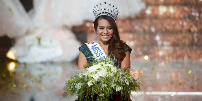 Vaimalama Chaves élue Miss France 2019