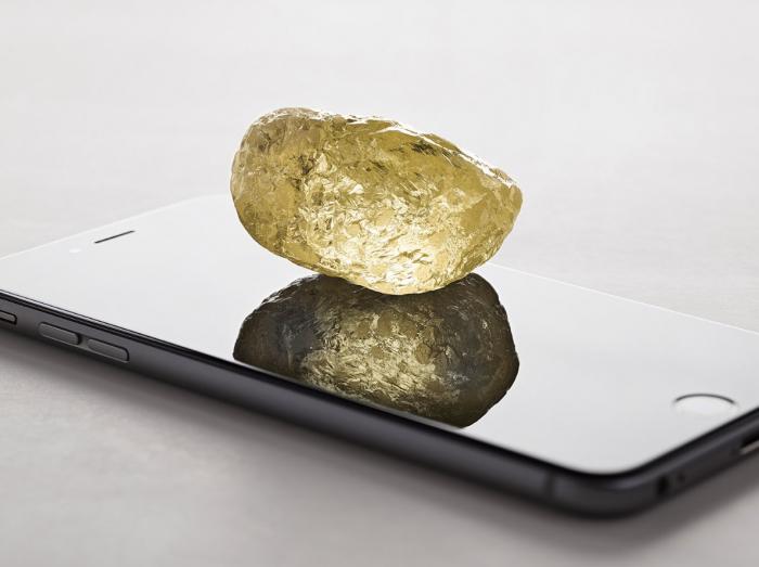 Un diamant de 552 carats découvert au Canada