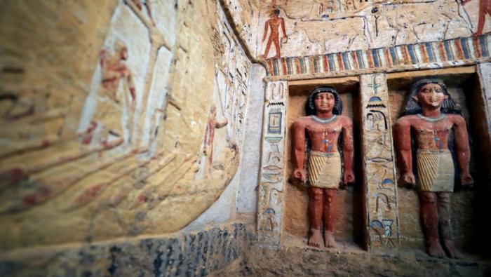 Égypte : découverte d
