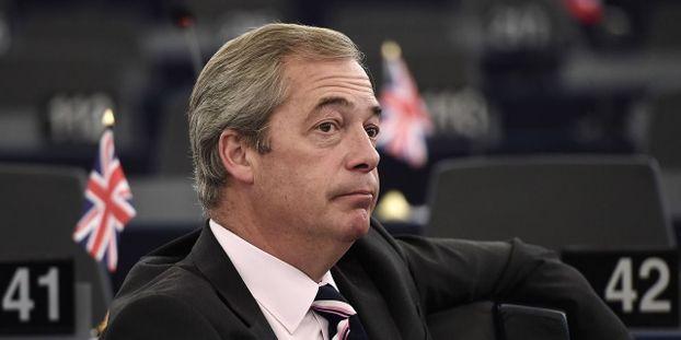Royaume-Uni : héraut du Brexit, Nigel Farage quitte le parti europhobe Ukip